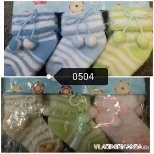 Ponožky teplé kojenecké (one size) AODA AOD180504