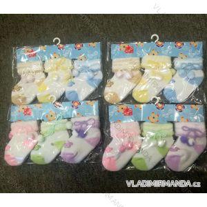 Ponožky teplé kojenecké (one size) AODA AOD18009