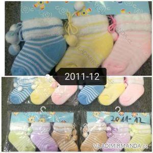 Ponožky teplé kojenecké (one size) AODA AOD182011-12