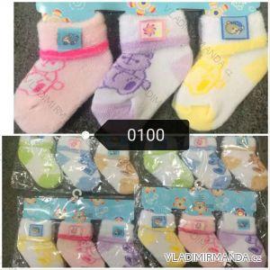 Ponožky teplé kojenecké (one size) AODA AOD180100