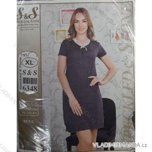 Noční košile krátký rukáv dámská (s-3xl) SAS TURECKO  IM10183