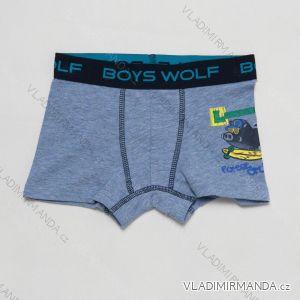 Boxerky dětské chlapecké (98/104-122/128) WOLF L2881D