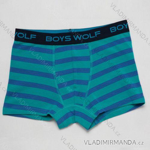 Boxerky dorost chlapecké (134/140-158/164) WOLF L2882D