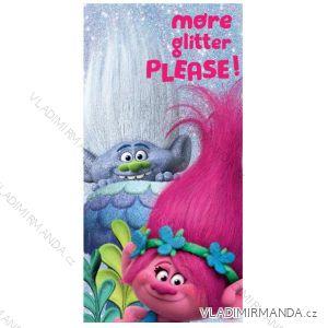 Osuška ručník trolls dětská dívčí (70*140) EPLUSM 52 47 151 MICRO