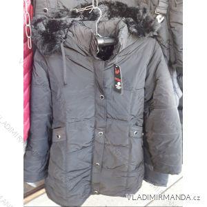 Zimní bunda polstrovaná s kapucí nadrozměrná pánská (2xl-5xl) HUAGE 1806D