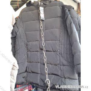 Zimní bunda polstrovaná s kapucí nadrozměrná pánská (4xl-8xl) HUAGE BY1809