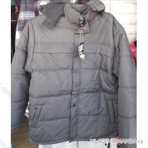 Zimní bunda polstrovaná s kapucí nadrozměrná pánská (2xl-5xl) HUAGE 1801BZ