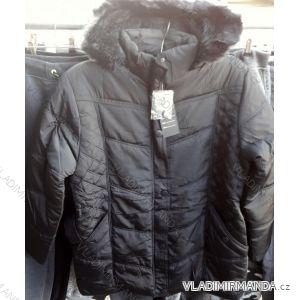 Bunda  zimní s kapucí dámská nadrozměrná (xl-5xl) HAUGE Y2251819