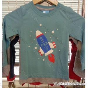 Tričko dlouhý rukáv dětské chlapecké (98-128) VOGUE IN 78411