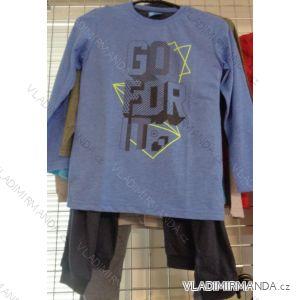 Pyžamo dlouhý rukáv nohavice dorost chlapecké (128/164) BOYS VOGUE IN 78487