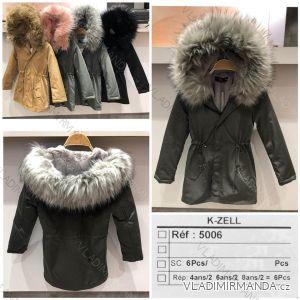 Bunda parka zimní dívčí dětská (10-14let) K-ZELL 8035K
