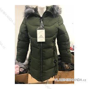 817dc701d25d Bunda   kabát dámská zimní prošívaná s kožíškem (m-2xl) POLSKO  LEU181411ZYIO8011