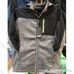 Mikina teplá pánská zip s kapucí (m-3xl) VINTE VIN18SH-9912