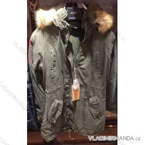 Kabát parka zimní  s kožešinou dámská (s-2xl) EMT-ALNWICK EMT18017