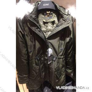 Kabát parka zimní  s kožešinou pánská (m-3xl) EMT-ALNWICK EMT18021