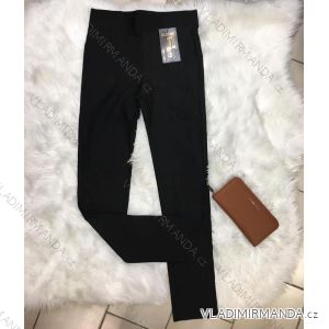 ffdf1f1aabd Legíny nadrozměrné s chloupkem kalhoty dlouhé dámské (xl-6xl) ELEVEK 9980-2