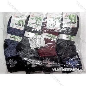 Ponožky teplé thermo zdravotní dámské bambusové (35-42) AMZF PB830