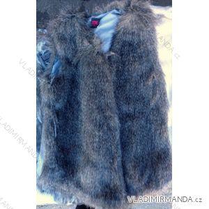 Vesta kožíšek dámská (l-3xl) REDAL FASHION HU-176