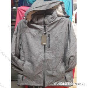 Bunda zateplená kožíškem na zip dámská nadrozměrná (xl-4xl) TEMSTER IM101823424