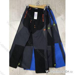 Kalhoty šusťákové zateplené flaušem dorost dívčí i chlapecké (134-164) GRACE GRA1871160