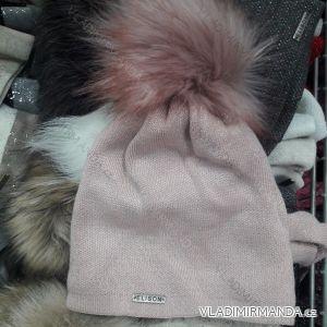 Čepice zimní zateplená flaušem dámská a dorost (uni) ELISON POLSKO PV418240