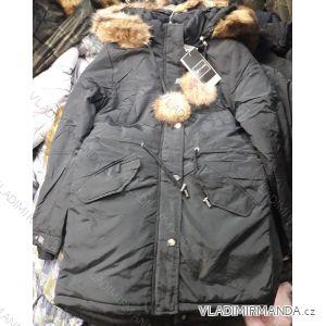 Kabát parka dámská teplá s kožíškem (s-2xl) NATURE IM618RQW-5201