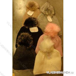 Čepice pletená zimní dámská (uni) ECHT PF006