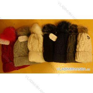 Čepice pletená zimní dámská (uni) ECHT PF003