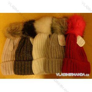 Čepice pletená zimní dámská (uni) ECHT PF007A