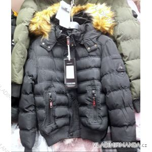 Bunda zimní dětská dorost chlapecká (6-16let) NATURE TM218RHB-5584 fefb65908a