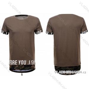 Tričko krátký rukáv pánské bavlněné (m-2xl) GLO-STORY MPO-5371
