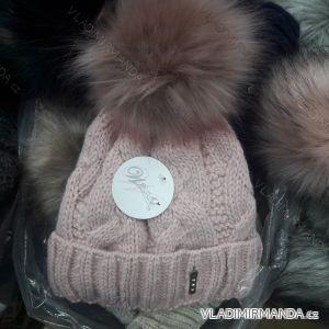 Čepice zimní pletená dámská (uni) WROBI POLSKO PV418245