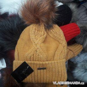 Čepice zimní pletená dámská (uni) VERONIC POLSKO PV418246