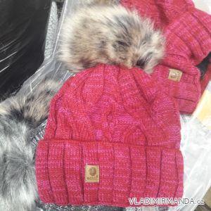 Čepice zimní pletená dámská (uni) POLSKO PV418248