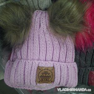 Čepice zimní pletená dorost dívčí (uni) ERASSI POLSKO PV418249