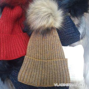 Čepice zimní pletená dámská (uni) POLSKO PV4182501