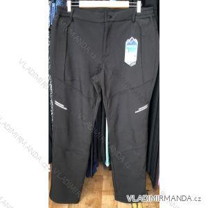 Kalhoty softshell zateplené flaušem pánské (m-xxl) EPISTER 12330M