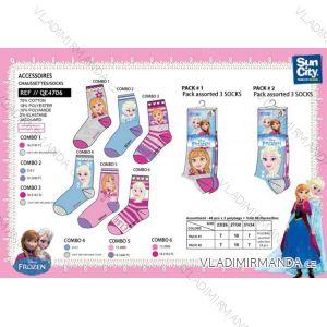 Ponožky frozen dětské dorost dívčí (23-34) SUN CITY QE4706