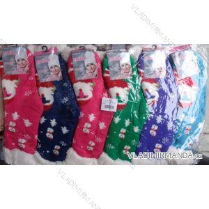 Ponožky teplé dámské vánoční motiv (35-42) EMI ROSS NěMECKO WW022