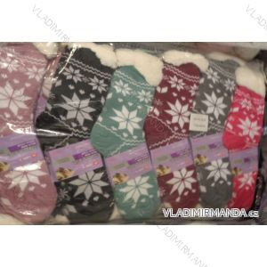 Ponožky teplé dámské vánoční motiv (35-42) EMI ROSS NěMECKO SM-HL-2009