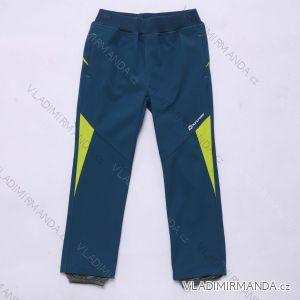 Kalhoty  slabé jarní softshellové kojenecké chlapecké  (92-110) WOLF B2983