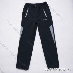 Kalhoty  slabé jarní softshellové dětské a dorost dívčí a chlapecké   (152-170) WOLF B2985