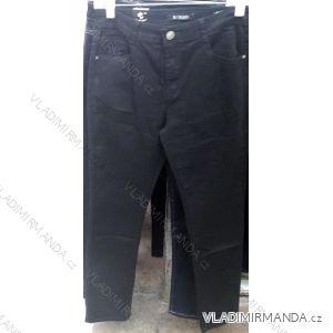 Kalhoty teplé plátěné hrubé podzimní dámské (30-38) MOON GIRL SUN18ZCD511-1A
