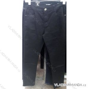 Kalhoty teplé plátěné zateplené flaušem dámské (30-42) MOON GIRL SUN18SHH9736C