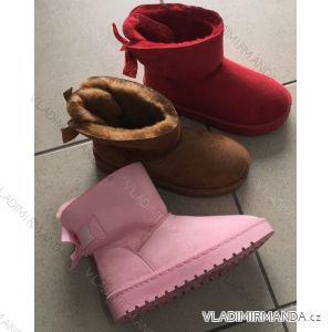 Válenky boty kotníkové dětské dorost dívčí (25-30, 30-35) OBUV OBT189869