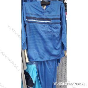 Pyžamo dlouhé teplé flanelové pánské nadrozměrné (M-3XL) YN.LOT IM10181/930