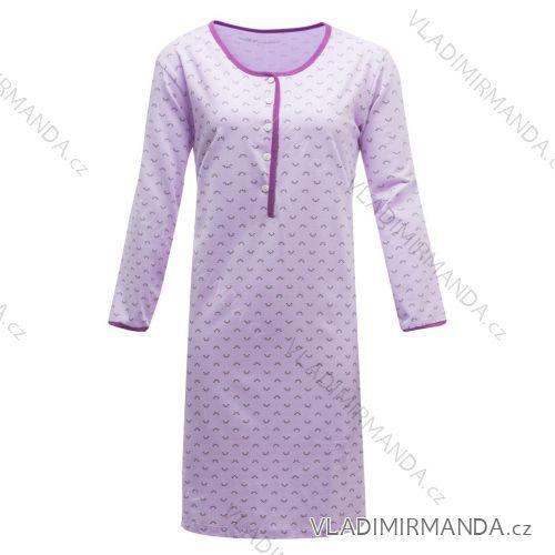 Noční košile dlouhý rukáv dámská (s-2xl) WOLF D2843