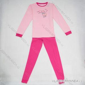 Pyžamo dlouhé dětské a dorost dívčí (134-164) WOLF S2853C