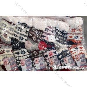 Ponožky zateplené bavlnou dámské (35-42) VIRGIN WW016-1
