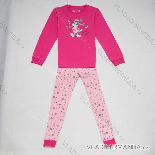 Pyžamo dlouhé dětské a dorost dívčí (110-140) WOLF S2852C